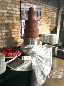 Chocolate Fountain Porsche
